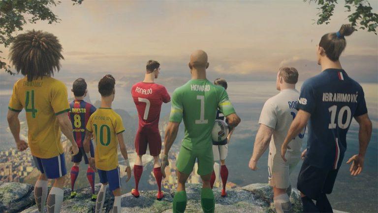 Nike Football: The Last Game. Ronaldo, Neymar, Zlatan, Lebron