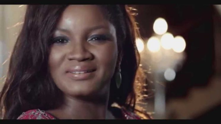 Omotola starring in new Konga commercial.