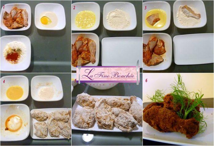 poulet frit kfc recette