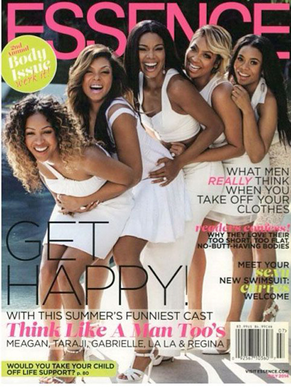 Les filles 'Think like A Man Too' en cover du magazine Essence