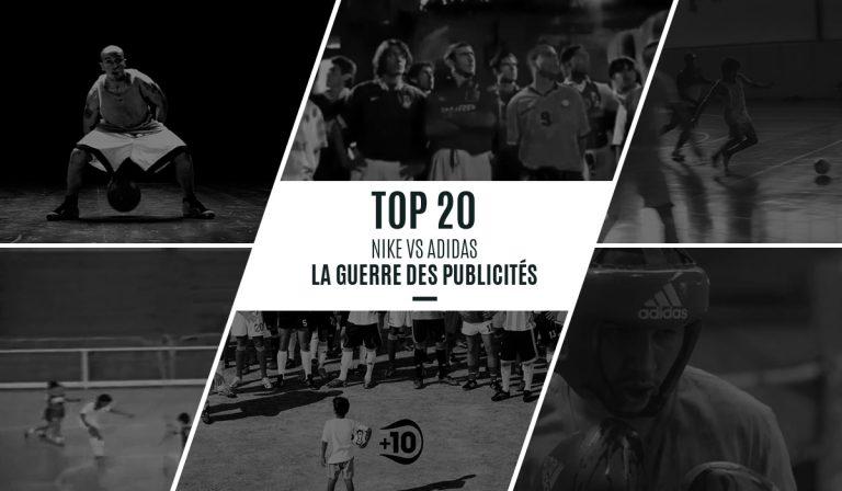 Le magazine Yard nous dresse le top 20 des pubs Nike/Adidas
