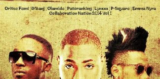 afrobeats Nigerian Afro Beats Collaborations Vol. 1 with P-Square, D'Banj, Davido