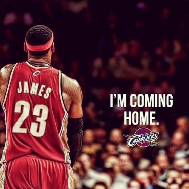 Lebron James de retour à Cleveland, ça mérite une compilation