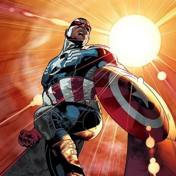 Le nouveau Captain America est NOIR  !