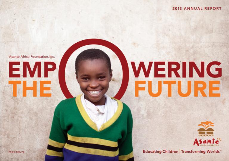 Asante Africa : la fondation qui mise sur l'éducation pour le développement de l'Afrique.