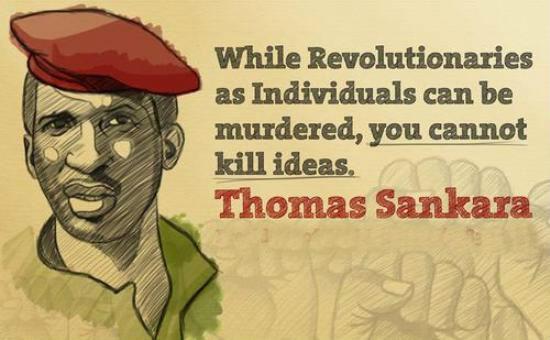 Thomas Sankara, discours du 15 octobre 1987