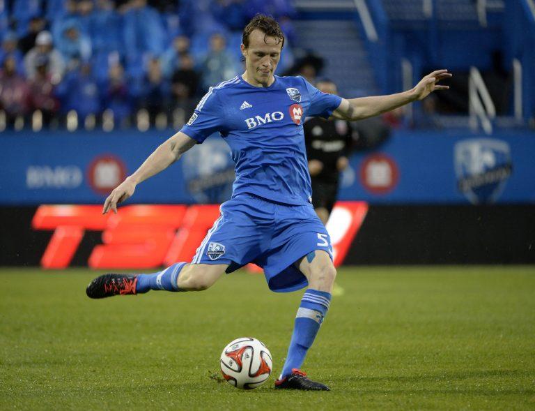 Les premières minutes de Wandrille Lefevre avec Canada Soccer (video)