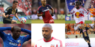 top 10 francais Mls major league soccer france french