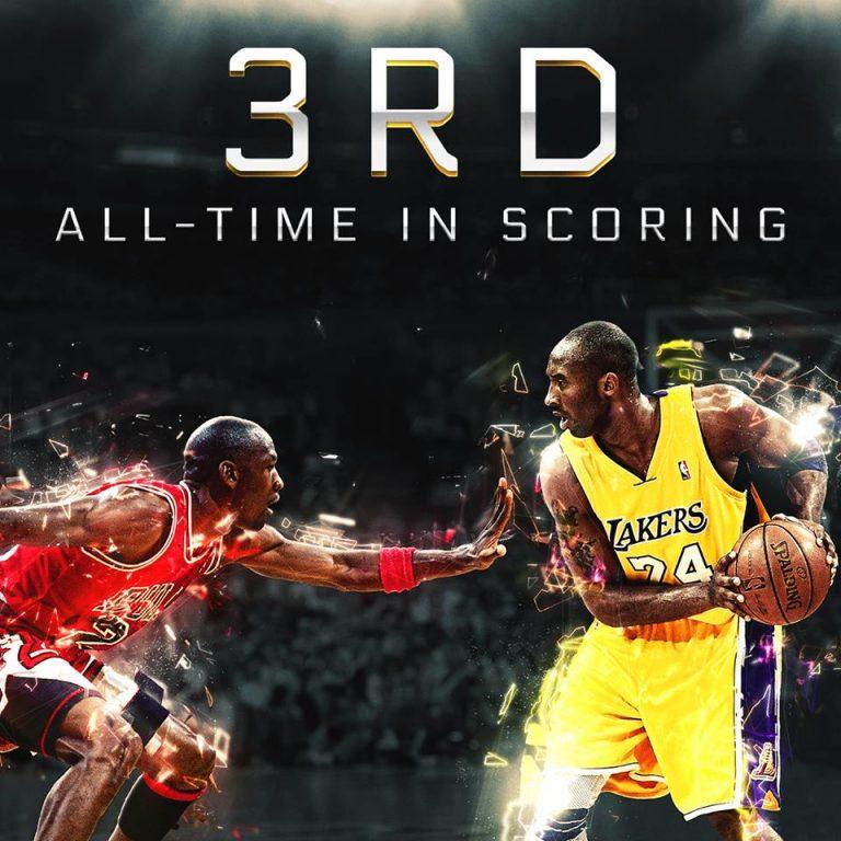 3rd all-time: Kobe Bryant better than Michael Jordan?