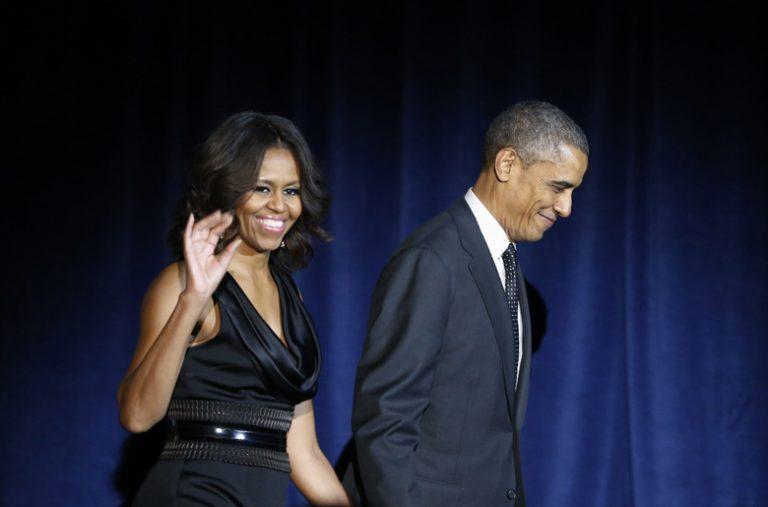 Le couple Barack Obama et Michelle Obama au cinéma !