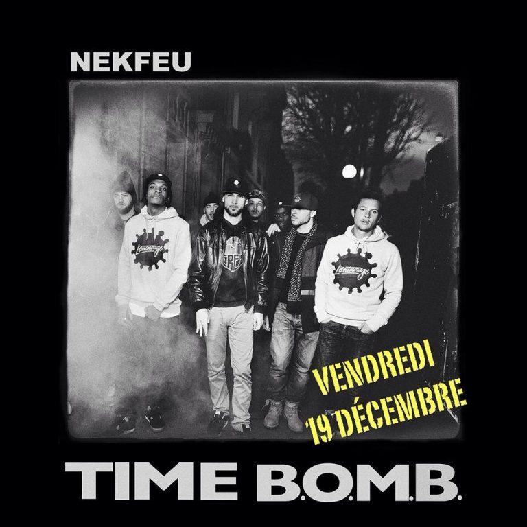 """""""Time B.O.M.B."""", le nouveau titre inédit de Nekfeu"""