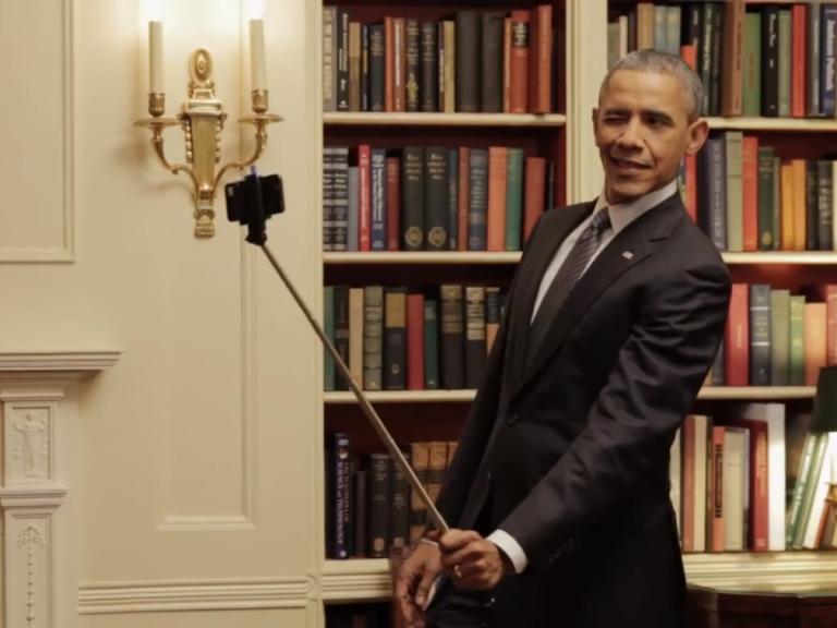 #Selfie : Barack Obama fait son show pour promouvoir Obamacare !