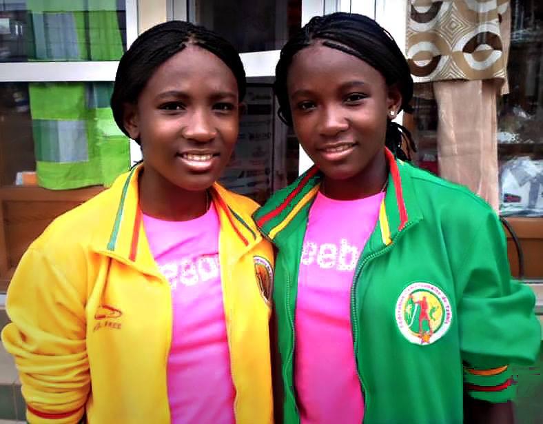 Linda et Manuella Eloundou Tenniswomen Camerounaises