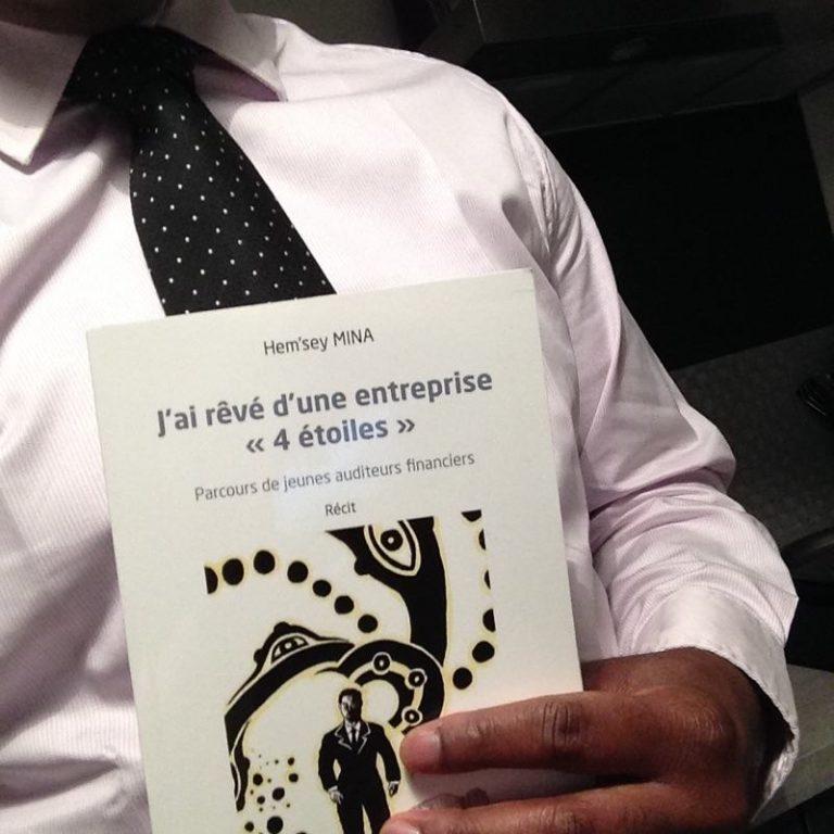 J'ai rêvé d'une entreprise «4 étoiles» : le premier livre d'Hem'sey Mina.