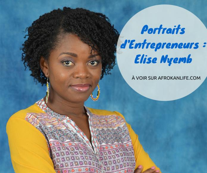 afrokanlife portrait Elise Nyemb aka Nappy Nyemb par Faida Boina