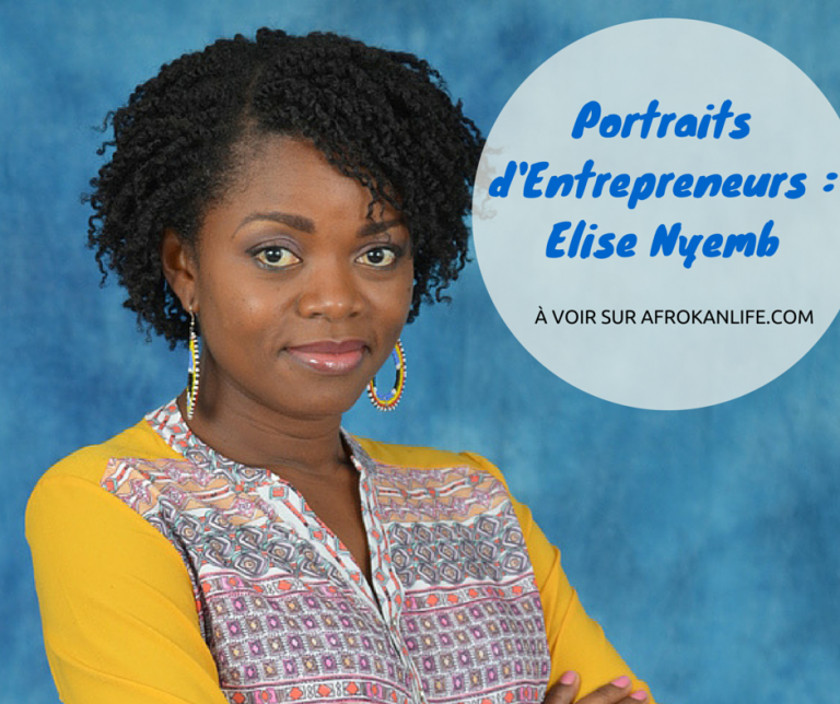 Afro Inspiration: Elise Nyemb aka Nappy Nyemb par Faida Boina