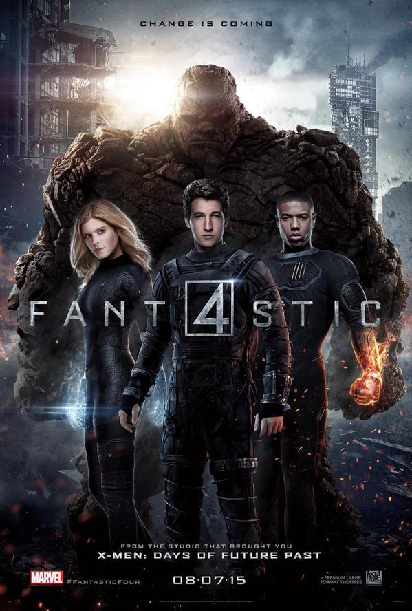 Michael B. Jordan en feu dans le trailer 'The Fantastic Four'
