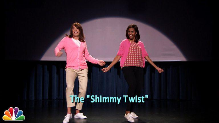 VIDEO. Michelle Obama et Jimmy Fallon n'ont aucune limite : Mom Dancing 2