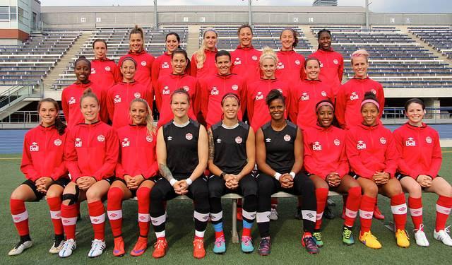 Équipe Féminine Canadienne 2015