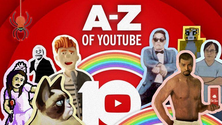 #HappyBirthdayYouTube : Les meilleures vidéos Youtube de A à Z des 10 dernières années