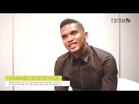 """Samuel Eto'o: """"Je souhaite que l'Afrique soit maître de son destin"""""""