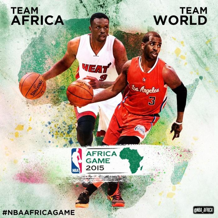 """La NBA en Afrique du Sud: """"Ce match va au-delà du basket"""""""