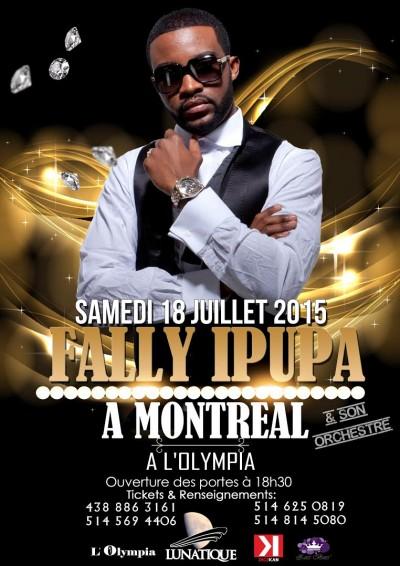 5 raisons d'aller voir Fally Ipupa en concert à l'Olympia de Montréal