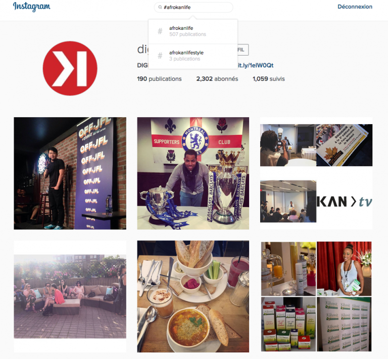Instagram permet enfin de faire des recherches spécifiques sur ordinateur