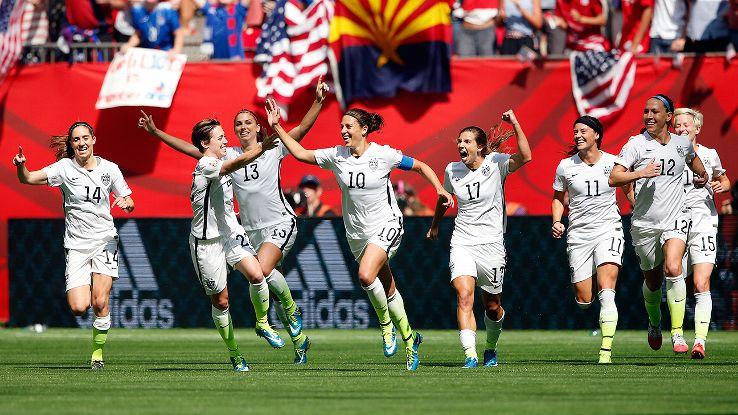#SheBelieves : Les Américaines remportent la Coupe du Monde de soccer