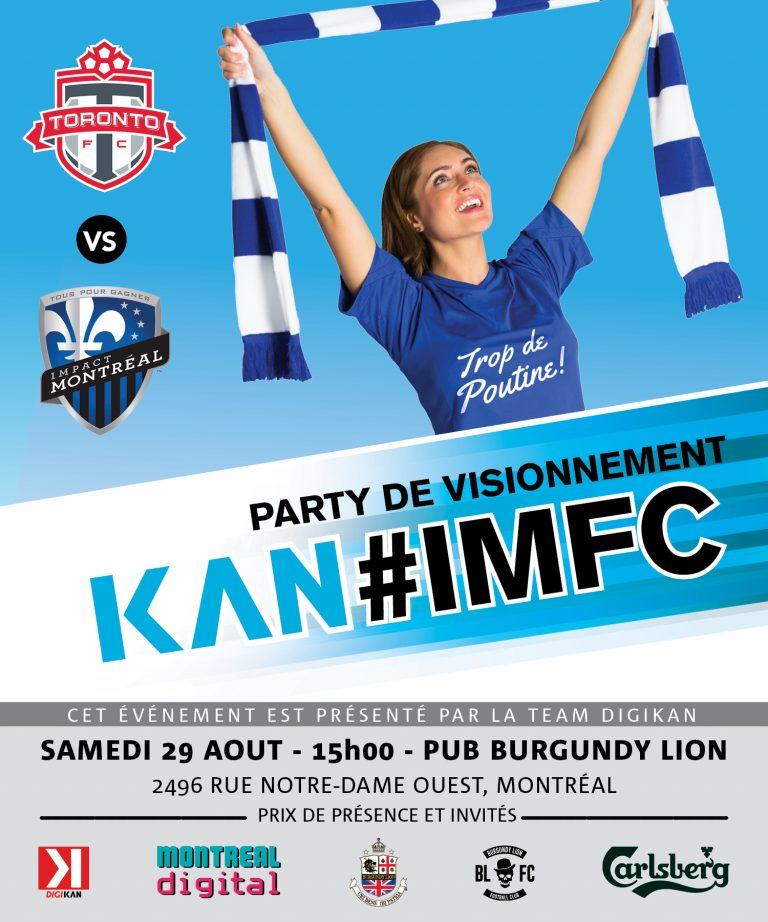KAN FC: Party de visionnement #TropDePoutine @ Pub Burgundy Lion
