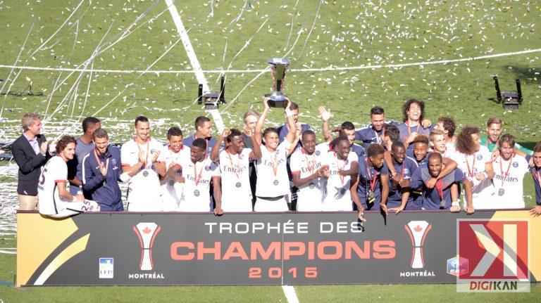 [Photos] La victoire du PSG Trophée des Champions Montréal 2015