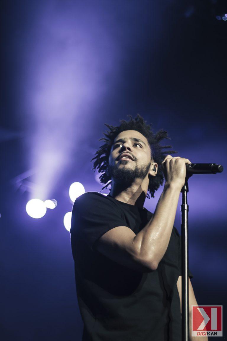 J-Cole en concert à Montréal comme si vous y étiez !