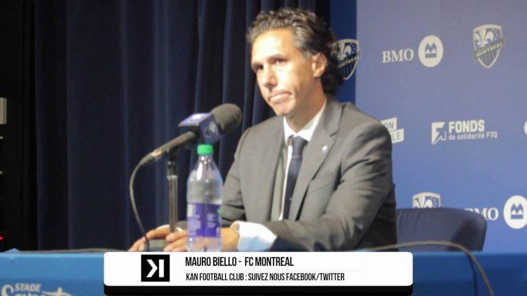 Montreal Impact 2-1 Chicago Fire : Commentaires d'après-match de Mauro Biello