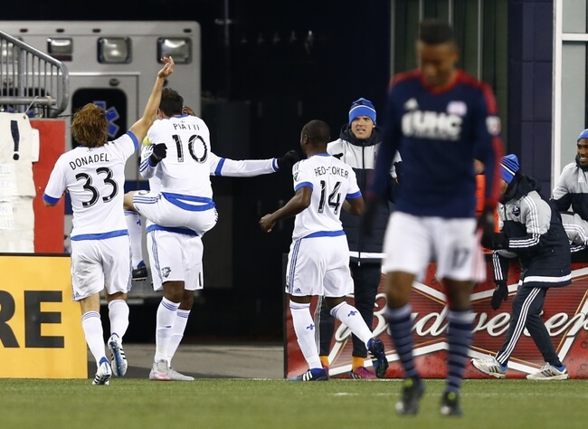 MLS: Montreal Impact at New England Revolution