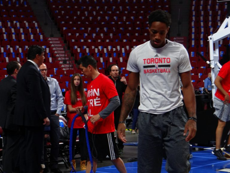 Un avant-goût de la saison NBA2015-2016 à Montréal