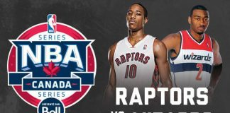 RAPTORS DE TORONTO vs. WIZARDS DE WASHINGTON - Montréal