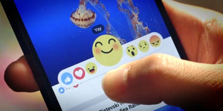 Facebook : pas de bouton « Je n'aime pas » mais 6 emojis