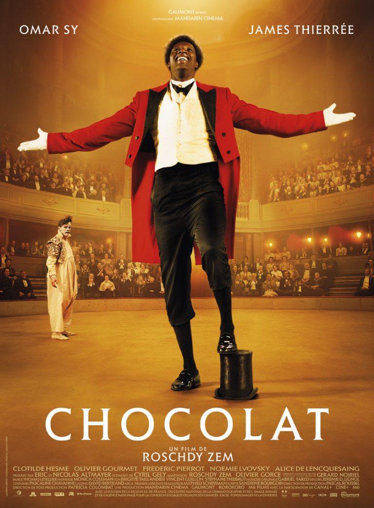 Retrouvez Omar Sy dans la bande-annonce de CHOCOLAT de Roschy Zem !
