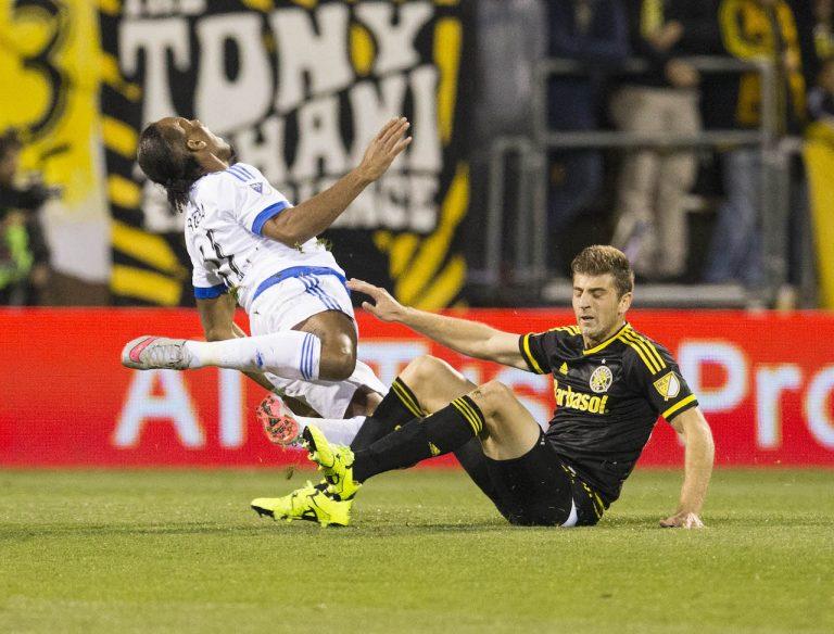MLS : L'Impact de Montréal est éliminé des séries MLS , perd 3-1 le match retour de la série face au Crew de Columbus