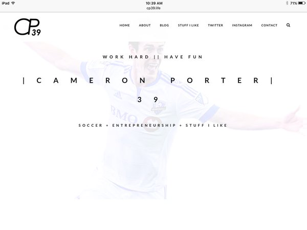 Porter Montreal site web