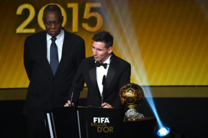 Lionel Messi remporte son cinquième Ballon d'Or