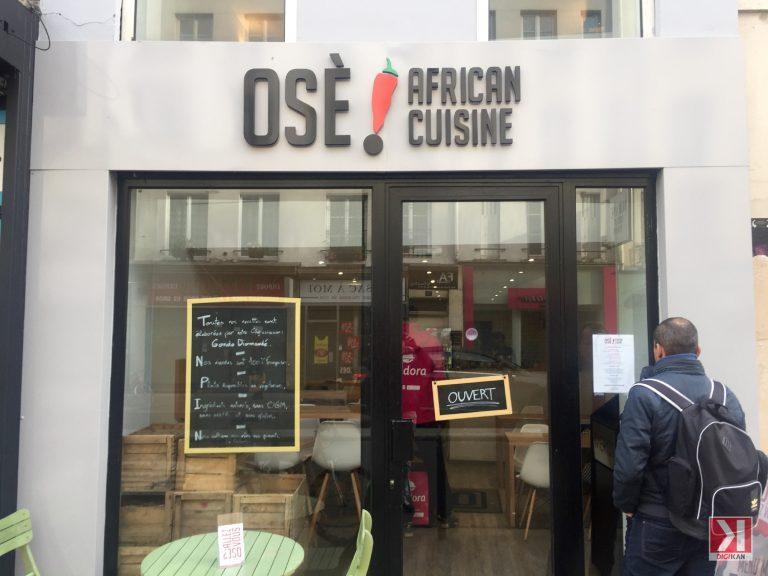 Projecteur sur Osè African Cuisine nouveau restaurant africain à Paris