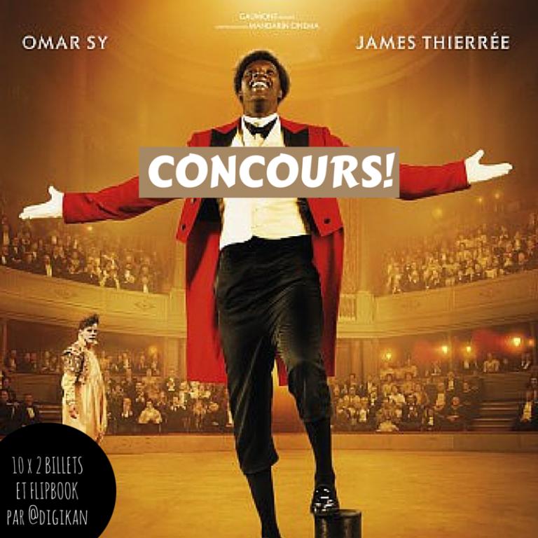 CONCOURS: 10 x 2 places pour le film CHOCOLAT d'Omar Sy