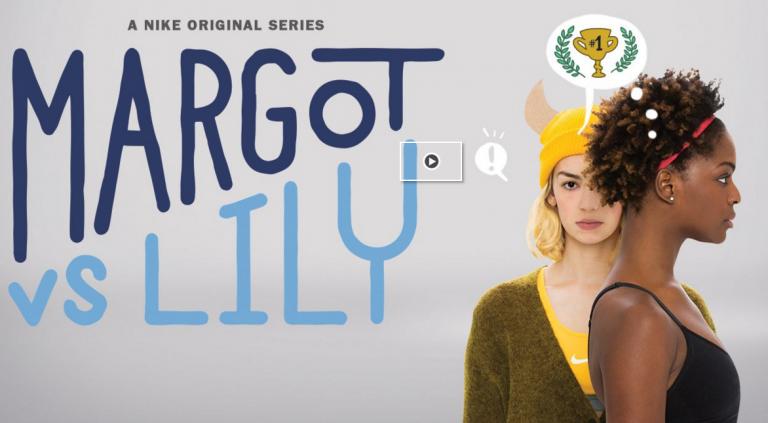 La nouvelle websérie sportive de Nike: Margot vs Lily