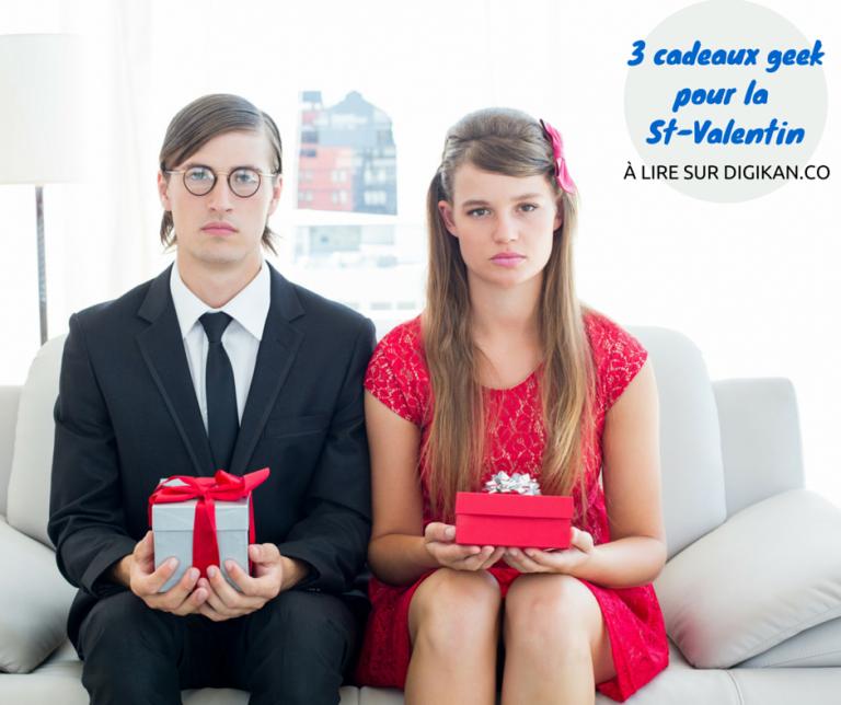 Idée cadeau pour un Homme : 3 cadeaux geek (pour la Saint-Valentin)