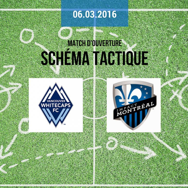 Schémas tactiques pour Impact Montreal vs Vancouver Whitecaps FC