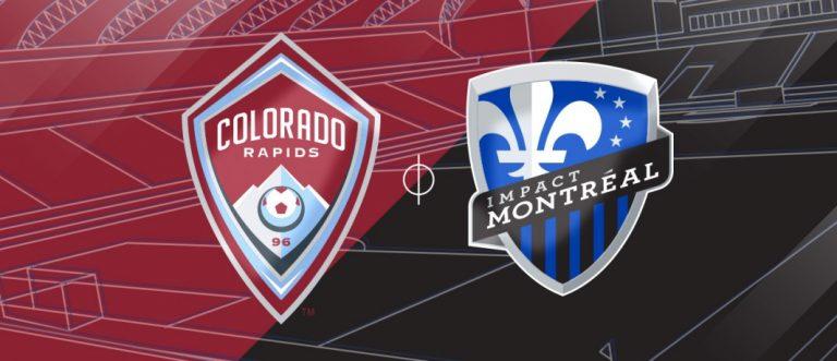 Match Rapids du Colorado c. Impact de Montréal en images.