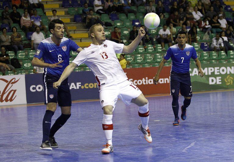 Le Canada accède au Championnat de futsal de la CONCACAF
