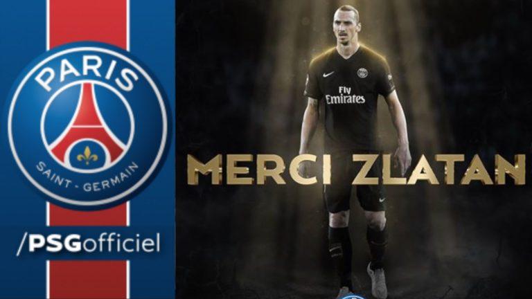 Twitter – Zlatan Ibrahimovic quitte le PSG sur une punchline