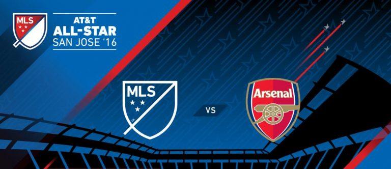 Match des étoiles AT&T de la MLS 2016 contre Arsenal